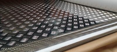 Aluminium Chequered Plate, Aluminum Chequered Plates, Aluminium