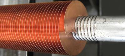 Copper Finned Tubes, Copper Alloy Fin Tube, Copper Integral