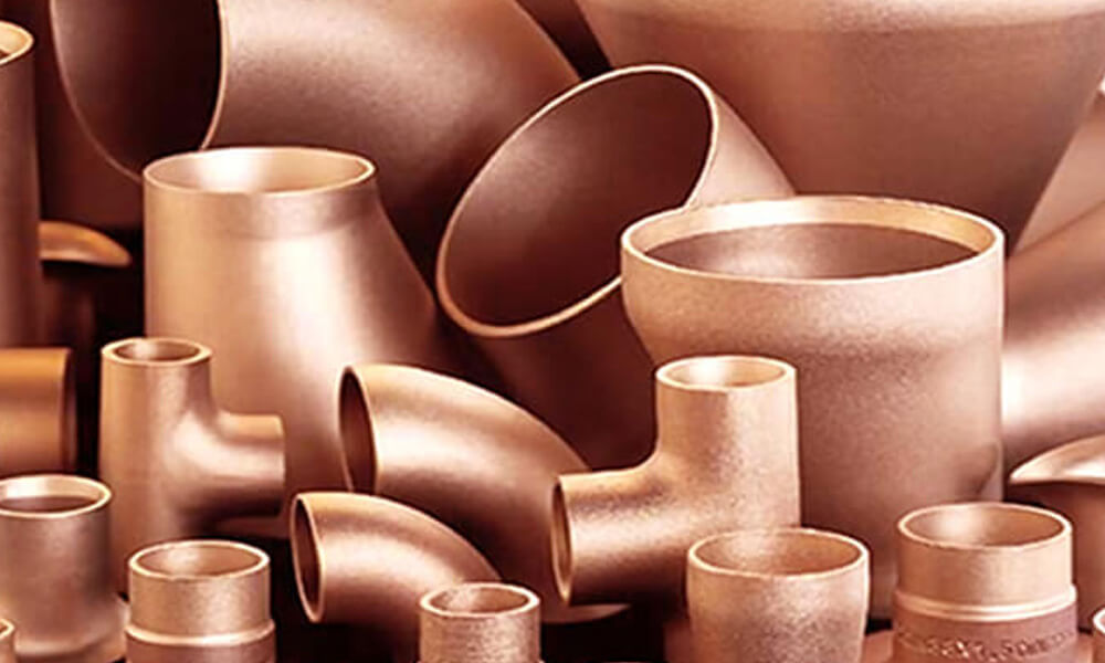 Cupro Nickel Buttweld Pipe Fittings