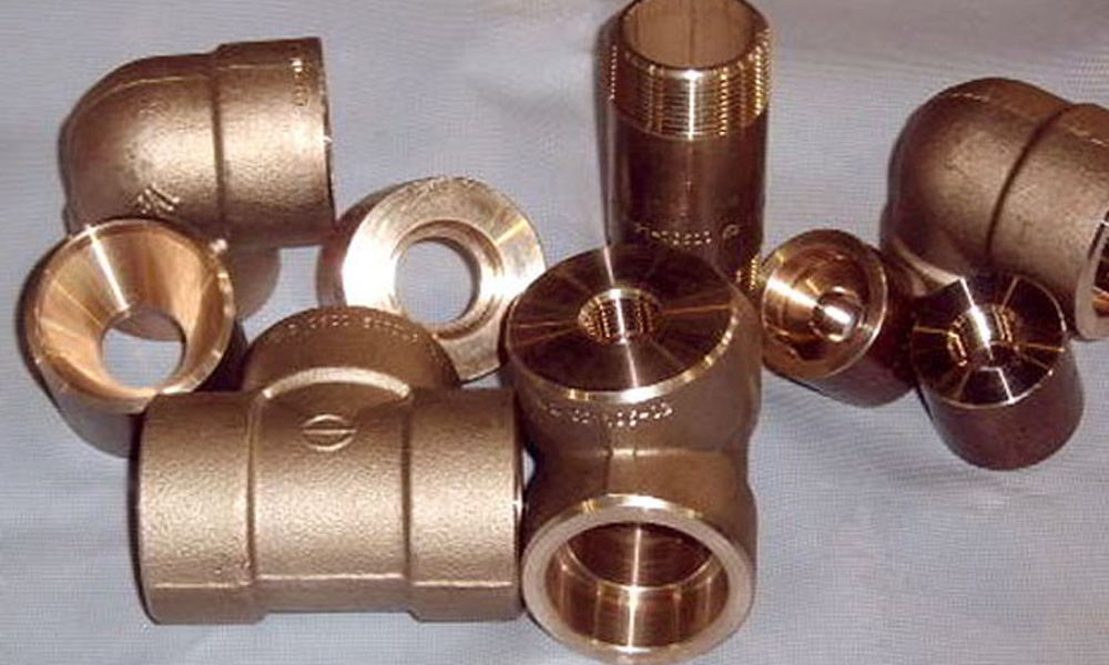 Cupro Nickel Socket weld Pipe Fittings
